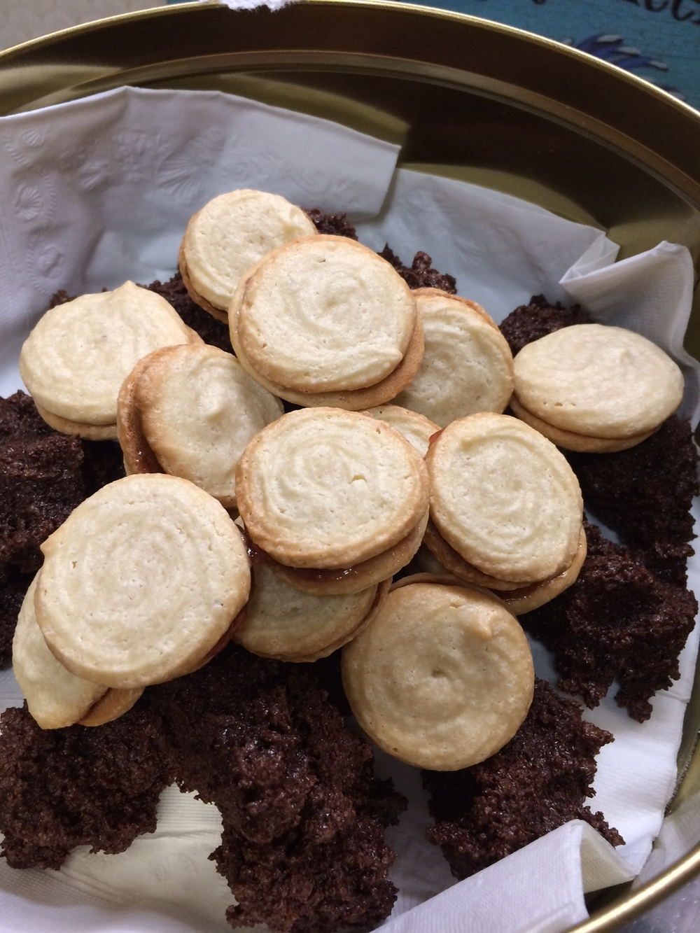Amaretti Cookies & Snowballs