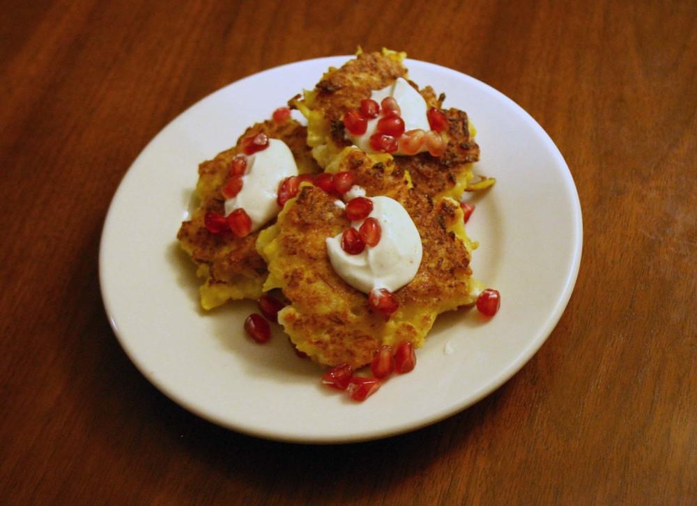 Cauliflower & Feta Fritters