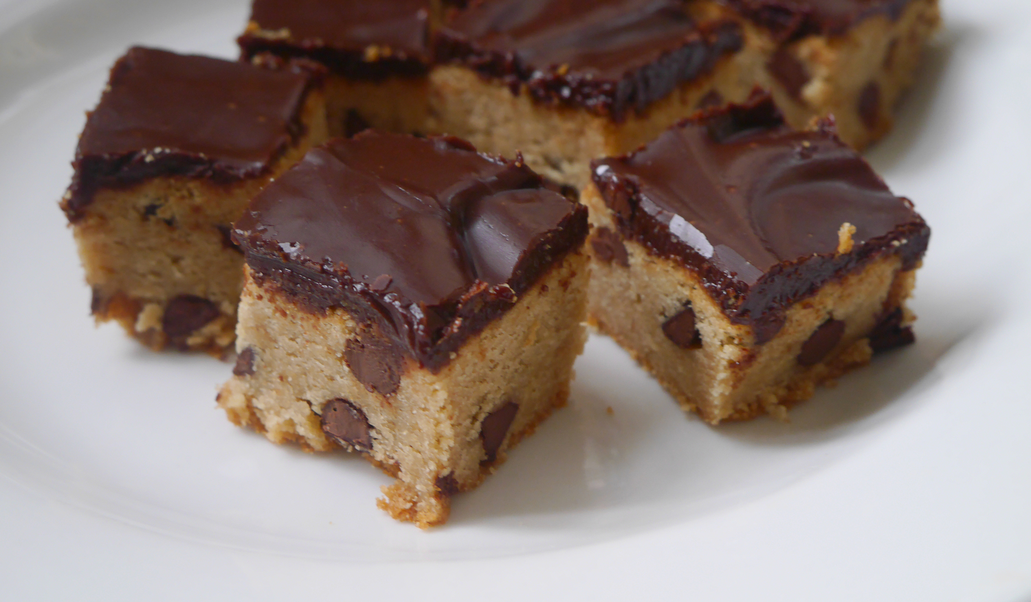 SK's Peanut Butter Brownies