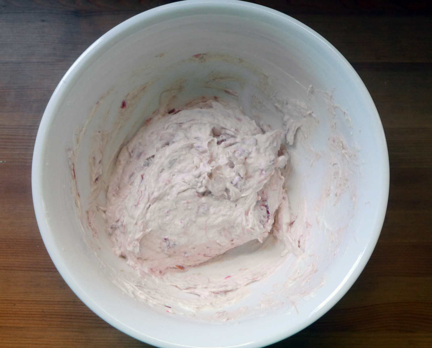 Rhubarb Mascarpone Whipped Cream