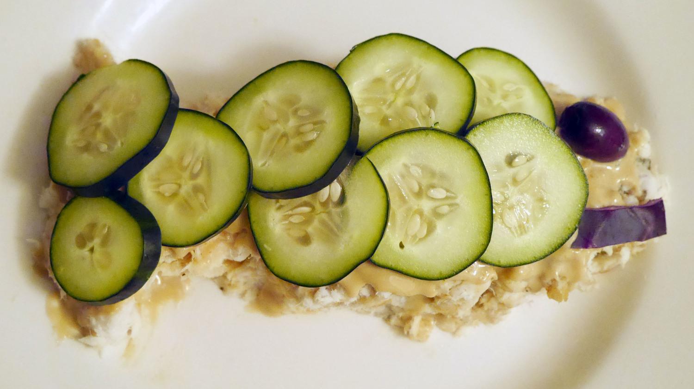 Tahini-Flounder Salad